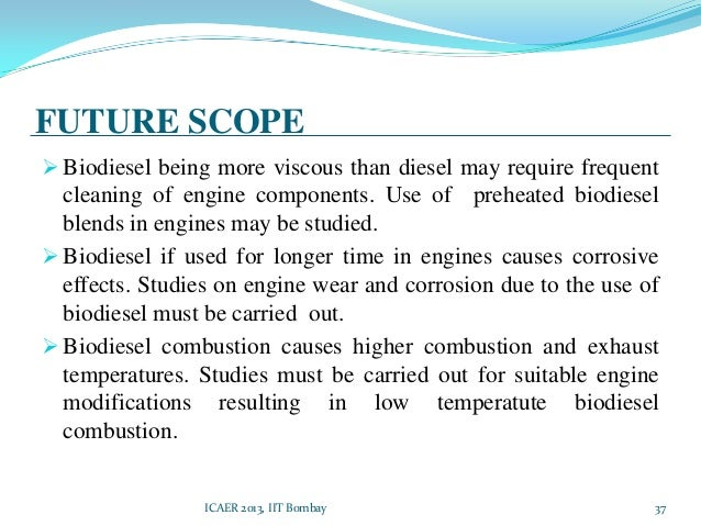future scope of biodiesel Request sample of market research report on global biodiesel fuel industry report history present and future 2018  table research scope of biodiesel fuel report.