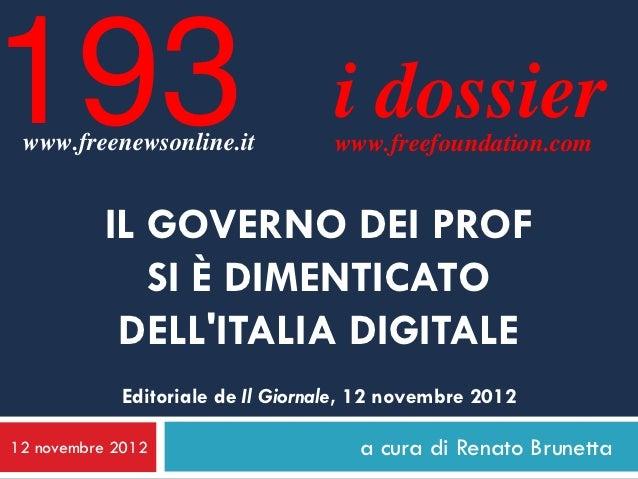 193 www.freenewsonline.it                                   i dossier                                   www.freefoundation...