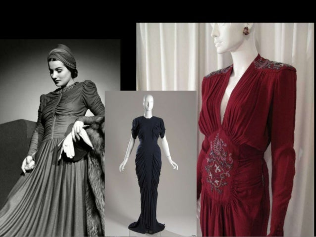 1940s Key Looks Fashion Design