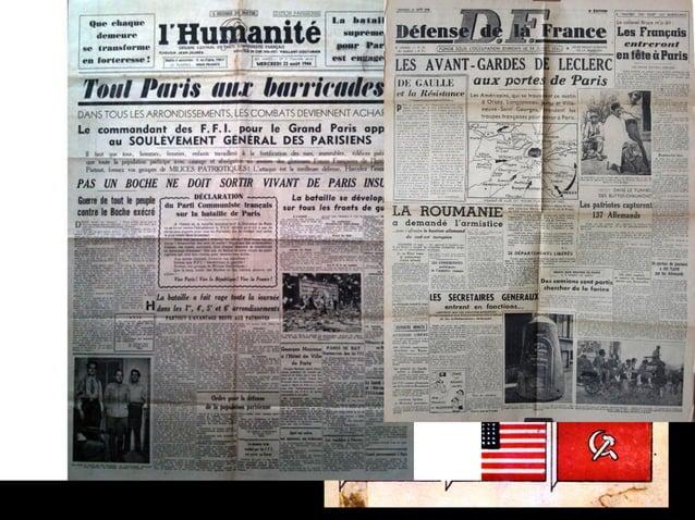 25 août 1944 PARIS se libère