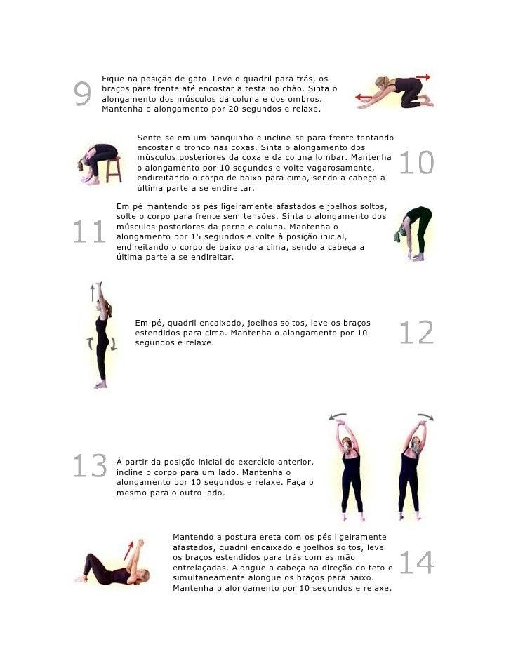 Conhecido Exercicios De Alongamento CF45