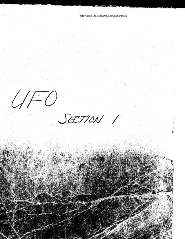 Rash of UFO Sightings FBI Government