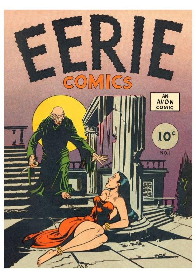 (1947) Eerie comics