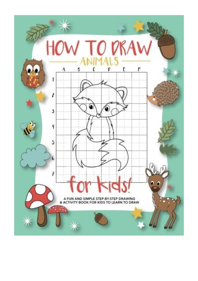 How To Draw Animals For Kids Pdf Modern Kid Press A Fun And Simple