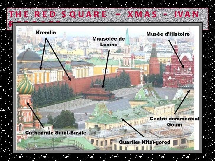 THE RED SQUARE  – XMAS -  IVAN REBROFF