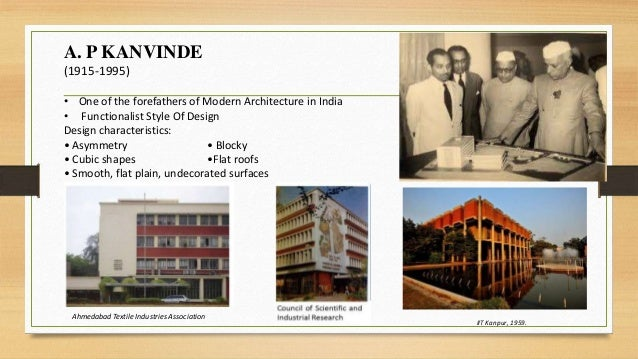 Contemporary Architecture 1950 1960 Indian Context