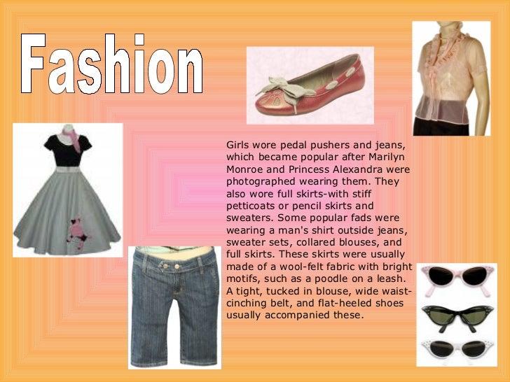 1950s Fashion And Fads