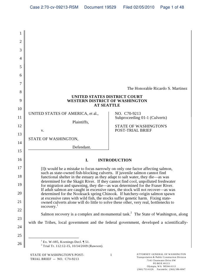Case 2:70-cv-09213-RSM                 Document 19529          Filed 02/05/2010             Page 1 of 48      1   2   3   ...