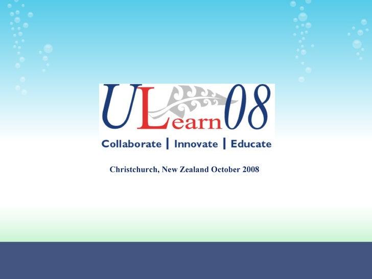 Christchurch, New Zealand October 2008