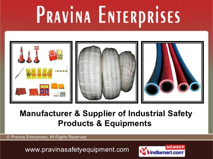 Manufacturer & Supplier of Industrial Safety Products & Equipments