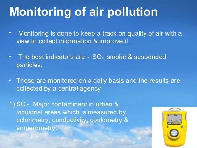 AIR POLLUTION MONITORING EBOOK
