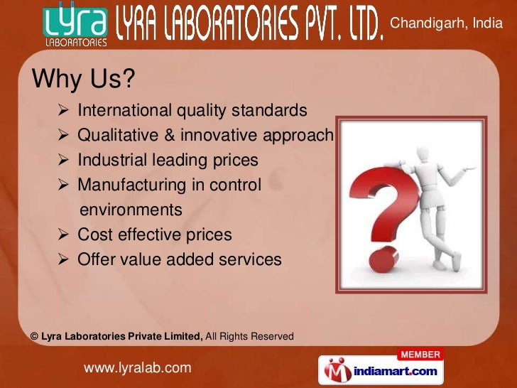 Chandigarh, IndiaWhy Us?      International quality standards      Qualitative & innovative approach      Industrial le...