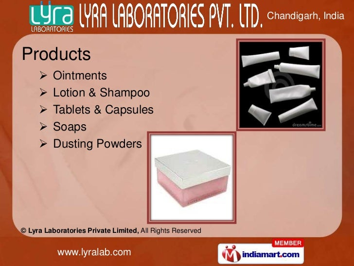 Chandigarh, IndiaProducts        Ointments        Lotion & Shampoo        Tablets & Capsules        Soaps        Dust...