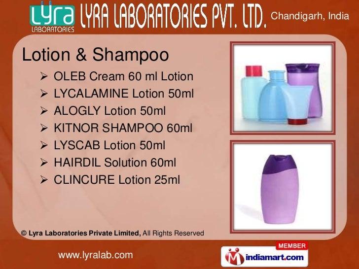 Chandigarh, IndiaLotion & Shampoo        OLEB Cream 60 ml Lotion        LYCALAMINE Lotion 50ml        ALOGLY Lotion 50m...
