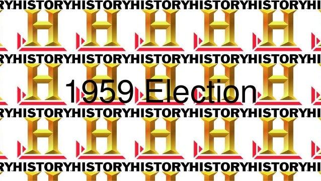1959 Election