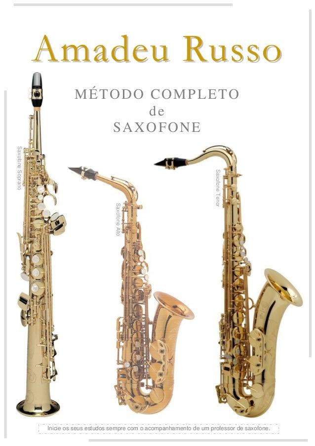 metodo amadeu russo saxofone