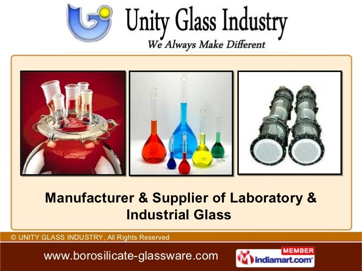 Manufacturer & Supplier of Laboratory & Industrial Glass