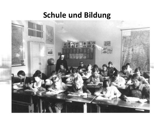 Ein Schritt zurück – 20er hatten einen Anstoß zu neuer Form von Schule gegeben (Reformpädagogik) – Mitte/Ende 30er: Nazis ...