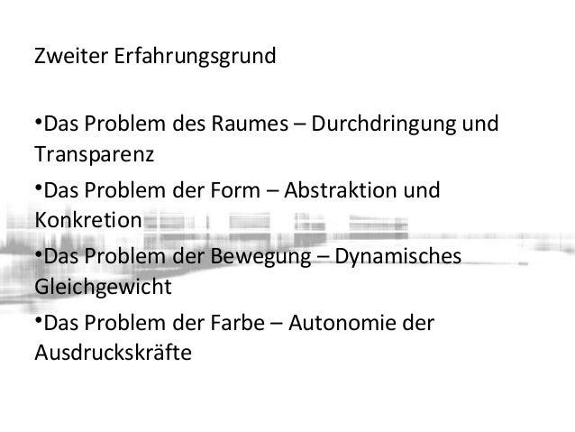 Abstraktionsreihe und Formerfindung zum Problem der Form – Abstraktion und Konkretion