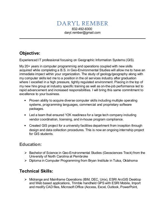 Data Management Resume Sample Resume Gis Manager Resume Sales