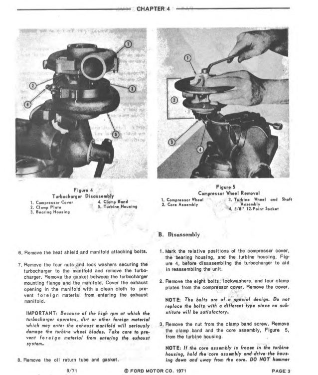 1971 ford 4000 tractor service repair manual