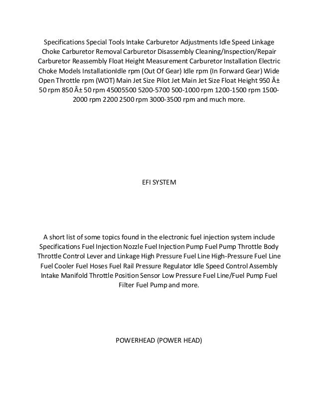 Manual johnson 48 Hp Pdf