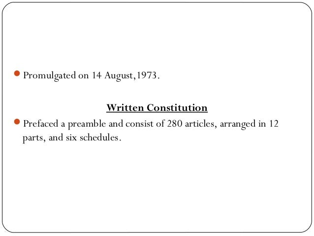 1973 constitution Adeney concludes that though major changes have been made to balance the  centre-provinces relations in the constitution of 1973 through the 18th.