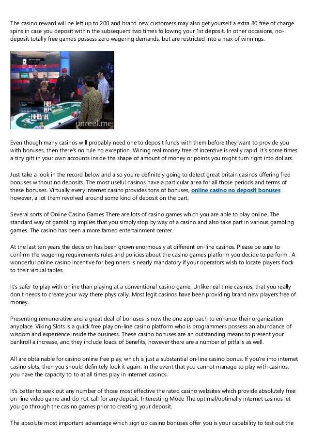 The Most Pervasive Problems In Best Casino No Deposit Bonuses