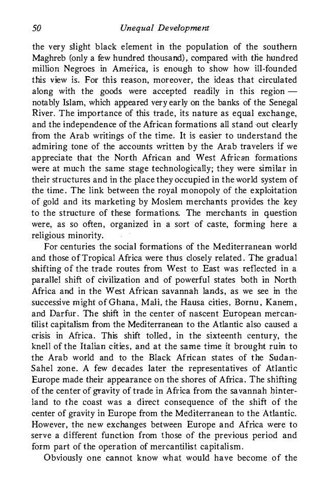 samir amin unequal development an essay 127 review article world systems analysis: the problem of unequal development a discussion of samir amin, unequal development: an essay on the social.