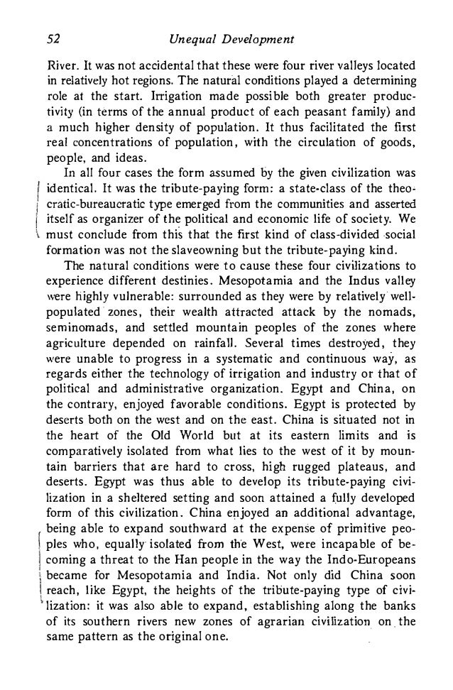 amin unequal development essay Search for more papers by this author spectres of capitalism, imperialism and unequal development, and amin, s (1976) unequal development.