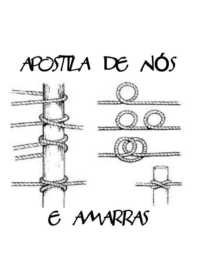 APOSTILA DE NÓS  E AMARRAS