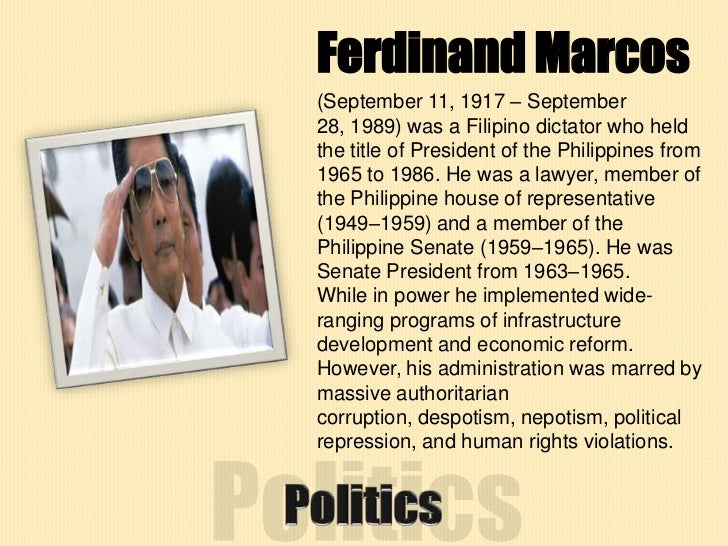 ferdinand marcos contributions Enjoy the best ferdinand marcos quotes at brainyquote quotations by ferdinand marcos, filipino statesman, born september 11, 1917 share with your friends.