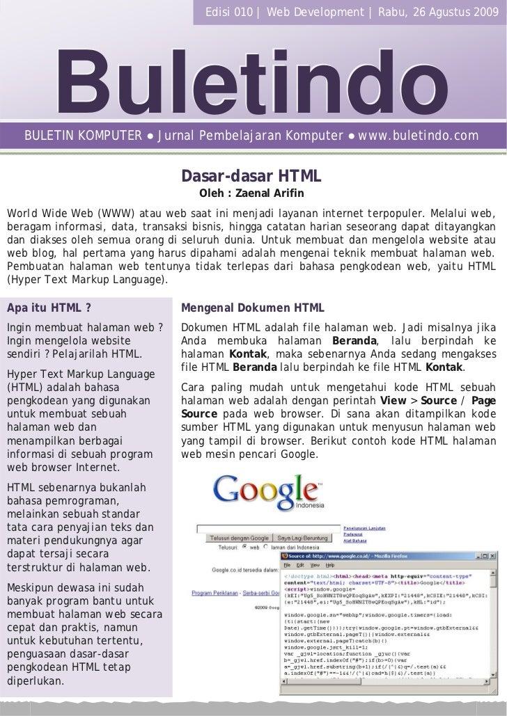 1 | Buletindo ● Download Gratis Buletin Komputer Terbaru di : http://komputer.buletindo.com                               ...