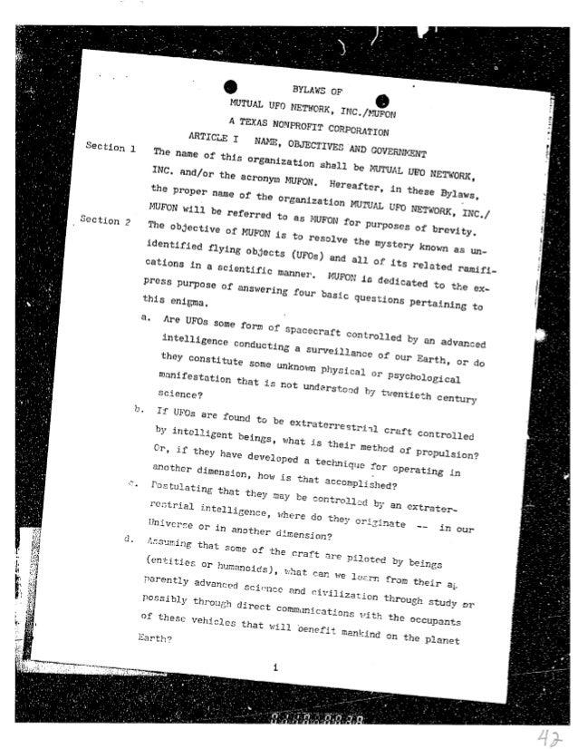1982 original bylaws 15 march 82