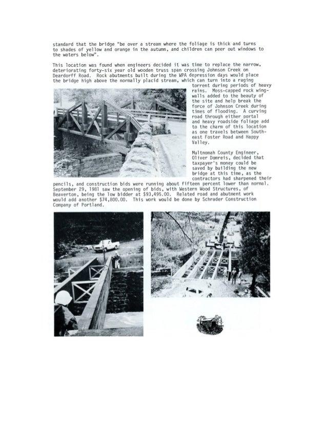 1982 Cedar Crossing Covered Bridge