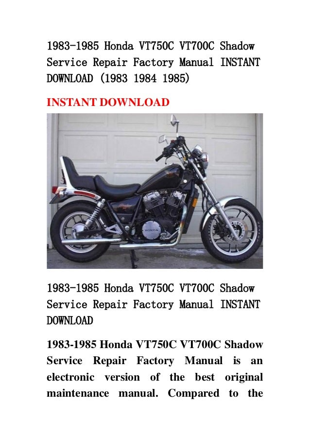 honda vt750c service manual open source user manual u2022 rh dramatic varieties com honda vt750dc service manual pdf 2003 Honda VT750 Shadow Spirit