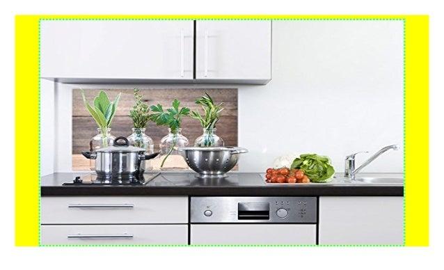 GRAZDesign 200054_100x60_SP Küchenrückwand Glas-Bild ...