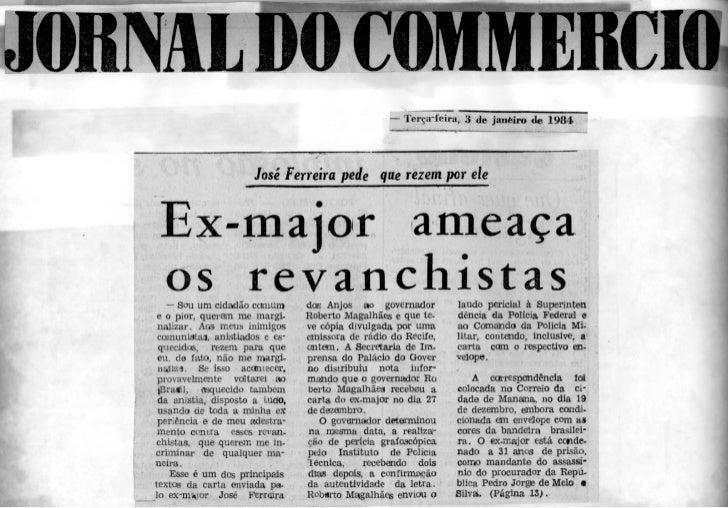 MME C                                                  — Terça-feira,. 3 de janéfro de 1984                      José Ferr...