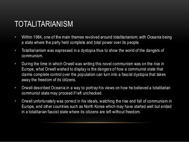 The Dangers of Totalitarianism