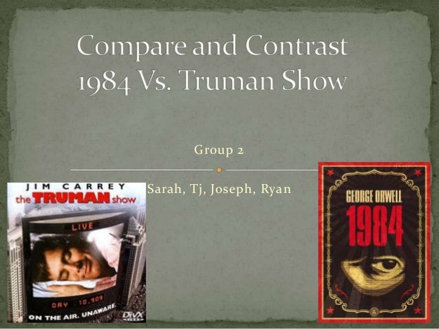 the truman show and the giver compare and contrast essay