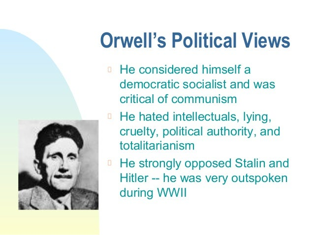 a presentation of george orwell and George orwell powerpoint presentation, ppt - docslides-  (1903-1950)  on each landing, opposite the lift shaft, the poster with the enormous face gazed from the wall.