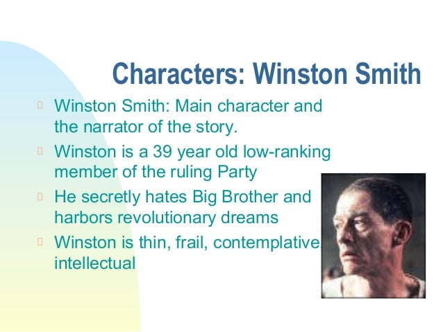 analysis of the character of winston