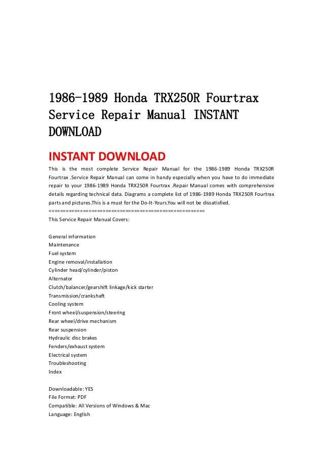 1988 1990 honda legend coupe workshop service repair manual download 1988 1989 1990