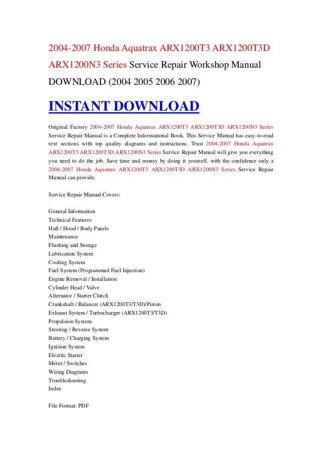 2005 honda aquatrax repair manual open source user manual u2022 rh dramatic varieties com honda aquatrax owners manual pdf 2005 honda aquatrax service manual