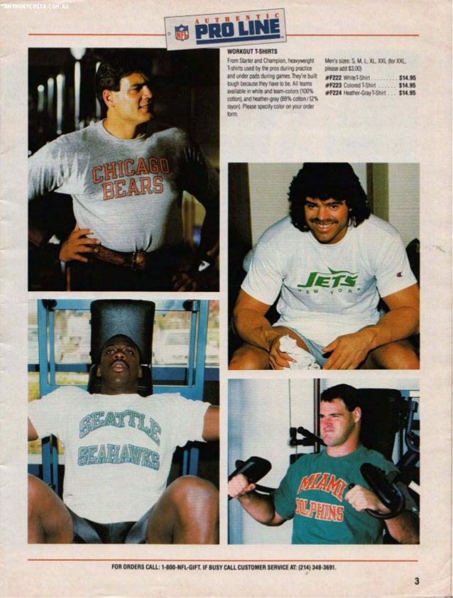 1987 NFL Pro Line Catalogue Slide 3