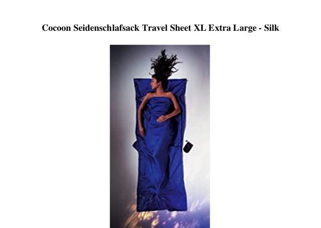 Cocoon Seidenschlafsack Travel Sheet XL Extra Large - Silk