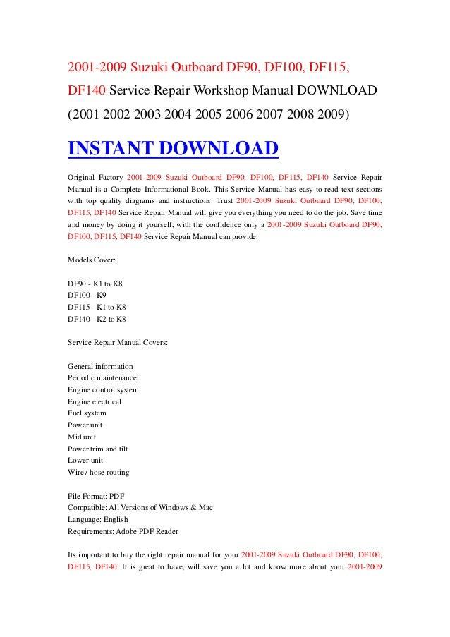 User Manual Df115