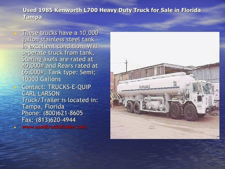 1988 Kenworth K100 Used Trucks And 4 Second Hand Trucks