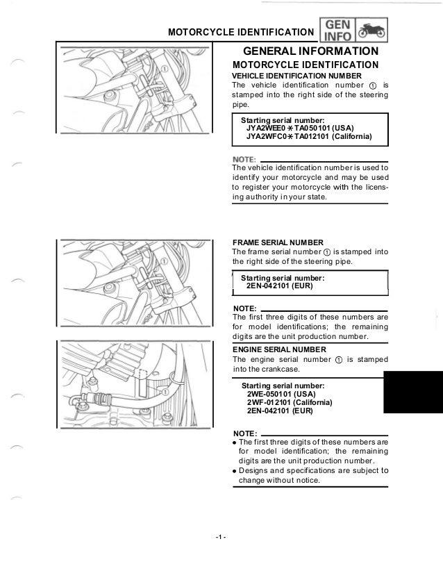 Yamaha VMX 1200 1988 - Front Brake Lever Stop Switch V MAX 1200 CC 2EN