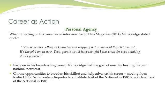 Case Study Presentation Exploring the Career of Peter Mansbridge